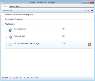 how to bring up task manager on windows
